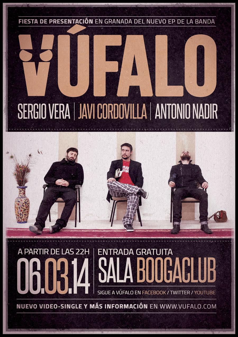 Vúfalo - Fiesta de presentación en BoogaClub