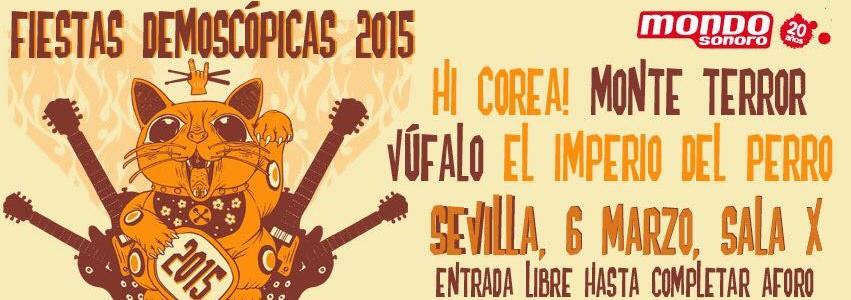 Vufalo en Fiesta Demoscopica 2015 MondoSonoro